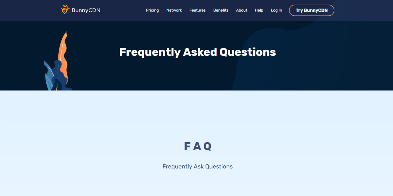 Frequently Asked Questions Bunnycdn