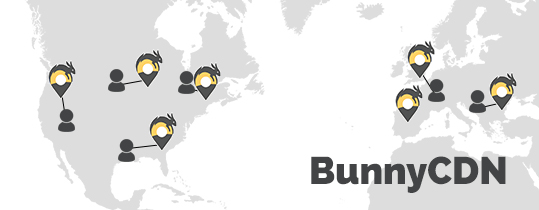 BunnyCDN World Diagram